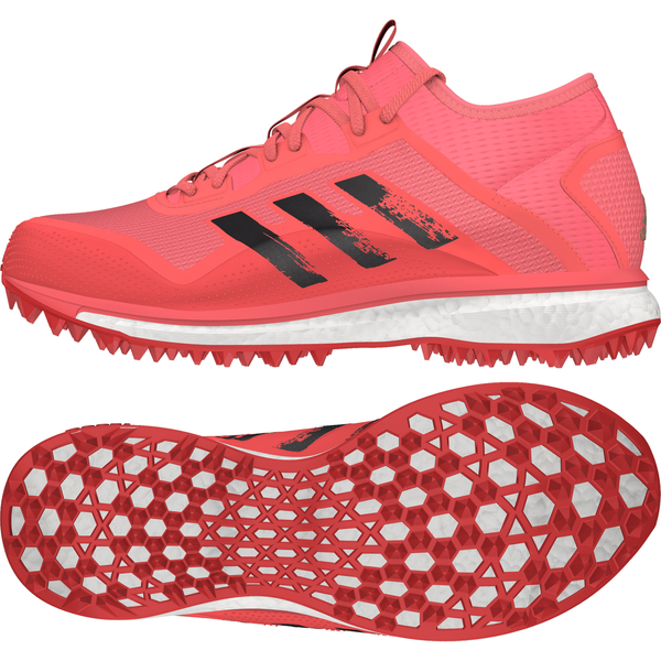2020/21 Adidas Fabela X Empower Hockey Shoes - Pink/Black