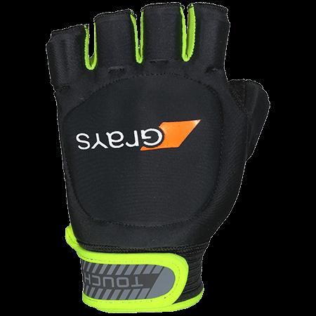 2021/22 Grays Touch Hockey Glove - Black/Fluo Yellow