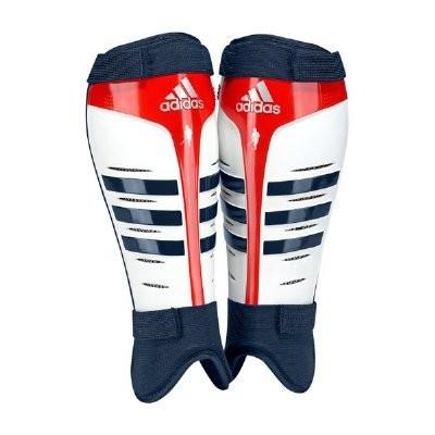 2016/17 Adidas adiStar Hockey Shin Pad White/Navy